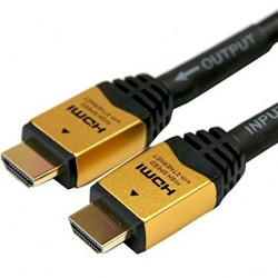HDMIケーブル 40m イコライザー付 ゴールド 写真1