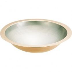 SA 銅 うどんすき鍋(槌目入) 33cm 写真1