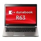 dynabook R63/P:i3-5005U/13.3/4G/128G/7ProDG/Office無/WEBカメラ無