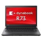 dynabook R73/T:Core i3-6100U、4GB、500GB_HDD、13.3HD、WLAN、7 Pro 64、Office無、標準モデル