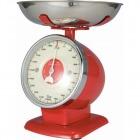 キッチンスケール ストリームライン 2kg 100-092 レッド
