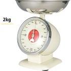キッチンスケール ストリームライン 2kg 100-092 アイボリー