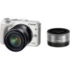 ミラーレスカメラ EOS M3・ダブルレンズキット (ホワイト)