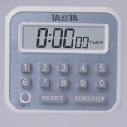 タニタ デジタルタイマー TD-375-WH ホワイト