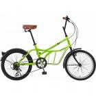 シティサイクル 20インチ自転車 ROADYACHT グリーン 【大型商品につき代引不可・時間指定不可・返品不可】