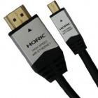 HDMI⇔Micro ケーブル 3.0m シルバー