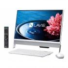 23.8型デスクトップパソコンLAVIE Desk All-in-one DA370/EAシリーズファインホワイト(Office Personal Premium プラス Office 365)