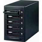 USB3.0/eSATA リムーバブルRAIDケース(外付け5ベイ) ブラック