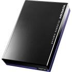 USB3.0/2.0対応ポータブルハードディスク「超高速カクうす」 3TB ブラック