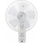 30cm壁掛扇風機 (リモコン)(風量4段階) 入切タイマー付 ホワイト