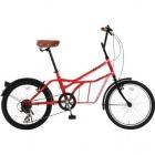 シティサイクル 20インチ自転車 ROADYACHT レッド 【大型商品につき代引不可・時間指定不可・返品不可】
