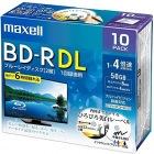 録画用 BD-R 50GB 4倍速対応 プリンタブル ホワイト 10枚入