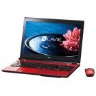 15.6型 ノートパソコンLAVIE Note Standard NS700/EAシリーズクリスタルレッド(Office Home&Business Premium プラス Office 365)