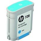 HP728 インクカートリッジ シアン40ml