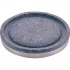 長水石焼丸型プレート 補強リング付 YS-0630A 30cm