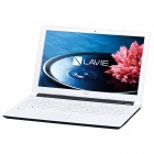 15.6型ノートパソコンLAVIE Note Standard NS100/E2Wホワイト(Office Home&Business Premium プラス Office 365)