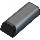 スタンド機能付きモバイルバッテリー 容量5200mAh 黒