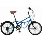 シティサイクル 20インチ自転車 ROADYACHT ブルー 【大型商品につき代引不可・時間指定不可・返品不可】