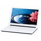 15.6型ノートパソコンLAVIE Note Standard NS100/E1Wホワイト(Office Personal Premium プラス Office 365)