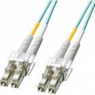 OM3光ファイバケーブル LCコネクタ-LCコネクタ 2m HKB-OM3LCLC-02L