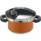 670038 オース 両手圧力鍋 3L オレンジ