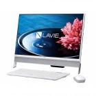 23.8型デスクトップパソコンLAVIE Desk All-in-one DA350/EAWファインホワイト(Office Personal Premium プラス Office 365)