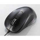 レーザーマウス/M-LS12ULシリーズ/有線/3ボタン/ブラック