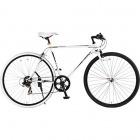 420-WH SCALPEL 700x28C クロスバイク 7段変速 タック・ブラック×シール・ホワイト  【大型商品につき代引不可・時間指定不可・返品不可】