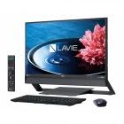 23.8型デスクトップパソコンLAVIE Desk All-in-one DA970/EABファインブラック(Office Home&Business Premium プラス Office 365)