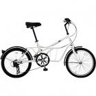 20インチ自転車 ROADYACHT(ロードヨット) ホワイト(サントリーニ) 【大型商品につき代引不可・時間指定不可・返品不可】