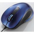 レーザーマウス/M-LS12ULシリーズ/有線/3ボタン/ブルー