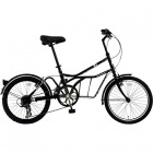 20インチ自転車 ROADYACHT(ロードヨット) ブラック(シャ・ノワール) 【大型商品につき代引不可・時間指定不可・返品不可】