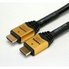 HDMIケーブル 20m イコライザー付 ゴールド