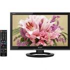 19V型地上・BS・110度CSデジタルハイビジョンLED液晶テレビ 外付HDD対応 ブラック系