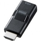 HDMI-VGA変換アダプタ(HDMIAオス-VGAメス)