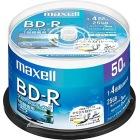 録画用 BD-R 25GB 4倍速対応 プリンタブル ホワイト 50枚入