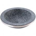 長水 石焼煮込み鍋 手無 補強リング付 YS-0328C 28cm