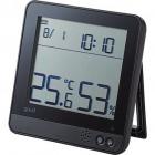 温室度警告計/熱中・ウィルス対応/大画面/ブラック