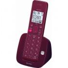 デジタルコードレス電話機 子機1台 ワインレッド