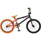 シティライドBMX自転車 20インチ DX20 ジェットブラック×フラッシュオレンジ 【大型商品につき代引不可・時間指定不可・返品不可】