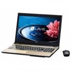 15.6型ノートパソコンLAVIE Note Standard NS750/EAシリーズクリスタルゴールド(Office Home&Business Premium プラス Office 365)