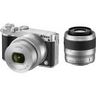 Nikon 1 J5 ダブルズームレンズキット シルバー