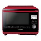 ヘルシオ AX-MP200-R [レッド系] AX-MP200-R 【大型商品につき代引不可・時間指定不可・返品不可】