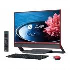 23.8型デスクトップパソコンLAVIE Desk All-in-one DA770/EAシリーズクランベリーレッド(Office Home&Business Premium プラス Office 365)