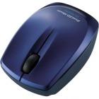 Bluetooth BlueLEDマウス/3ボタン/ブルー