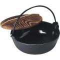 アサヒ 鉄 ホーロー いろり鍋 24cm