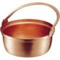銅 山菜鍋(内側錫引きなし) 27cm