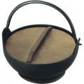 トキワ 鉄 やまが鍋 413 24cm 黒塗り