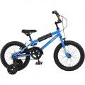 ジュニア用BMX自転車 16インチ DX16 プリシアン・ブルー 補助輪付 【大型商品につき代引不可・時間指定不可・返品不可】