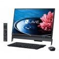 23.8型デスクトップパソコンLAVIE Desk All-in-one DA570/EABファインブラック(Office Home&Business Premium プラス Office 365)